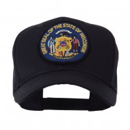 US Eastern State Seal Embroidered Patch Cap - Wisconsin