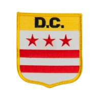 Eastern State Flag Embroidered Patch Shield - DC