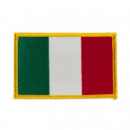 Europe Flag Embroidered Patches - Italy
