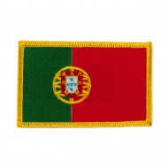 Europe Flag Embroidered Patches - Portugal