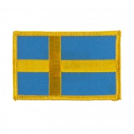 Europe Flag Embroidered Patches - Sweden