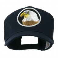 Eagle Military Large Embroidered Patch Cap - Eagle 2
