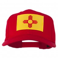New Mexico State High Profile Patch Cap - Red
