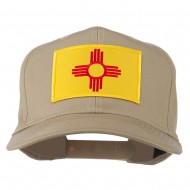 New Mexico State High Profile Patch Cap - Khaki