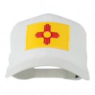 New Mexico State High Profile Patch Cap - White