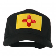 New Mexico State High Profile Patch Cap - Black