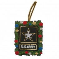 U.S. Armed Forces Embroidered Ornament Medallion - Army Of One