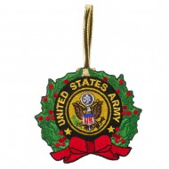 U.S. Armed Forces Embroidered Ornament Medallion - US Army