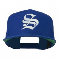 Old English S Embroidered Cap - Royal