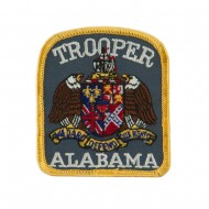 Eastern State Police Embroidered Patches - AL Trooper