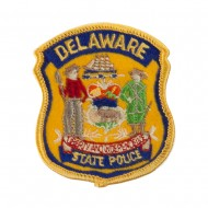 Eastern State Police Embroidered Patches - DE State
