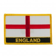 New Europe Flag Embroidered Patch - England