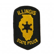 Eastern State Police Embroidered Patches - IL State