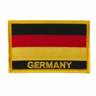 New Europe Flag Embroidered Patch - Germany