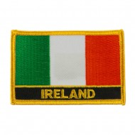 New Europe Flag Embroidered Patch - Ireland