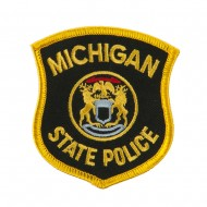 Eastern State Police Embroidered Patches - MI State