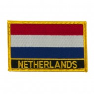 New Europe Flag Embroidered Patch - Netherlands