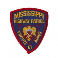Eastern State Police Embroidered Patches - MS Hwy