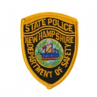 Eastern State Police Embroidered Patches - NH State