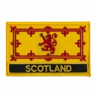 New Europe Flag Embroidered Patch - Scotland