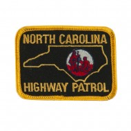 Eastern State Police Embroidered Patches - NC Hwy