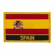 New Europe Flag Embroidered Patch - Spain