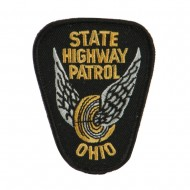 Eastern State Police Embroidered Patches - OH Hwy