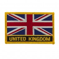 New Europe Flag Embroidered Patch - United Kingdom
