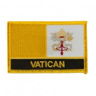 New Europe Flag Embroidered Patch - Vatican