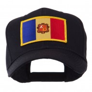 Europe Flag Embroidered Patch Cap - Andora