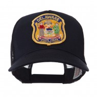 USA Eastern State Police Embroidered Patch Cap - DE State