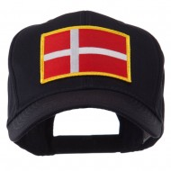 Europe Flag Embroidered Patch Cap - Denmark