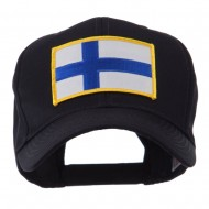 Europe Flag Embroidered Patch Cap - Finland