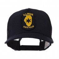 USA Eastern State Police Embroidered Patch Cap - IL State