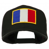 Europe Flag Embroidered Patch Cap - France