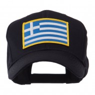 Europe Flag Embroidered Patch Cap - Greece
