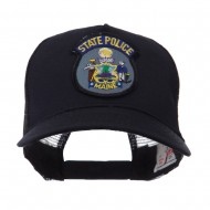USA Eastern State Police Embroidered Patch Cap - ME State
