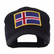 Europe Flag Embroidered Patch Cap - Iceland
