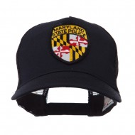 USA Eastern State Police Embroidered Patch Cap - MD State