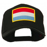 Europe Flag Embroidered Patch Cap - Luxembourg
