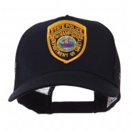 USA Eastern State Police Embroidered Patch Cap - NH State