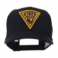 USA Eastern State Police Embroidered Patch Cap - NJ State