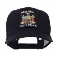 USA Eastern State Police Embroidered Patch Cap - NY State