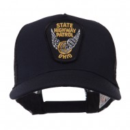 USA Eastern State Police Embroidered Patch Cap - OH Hwy