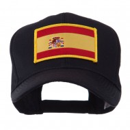 Europe Flag Embroidered Patch Cap - Spain