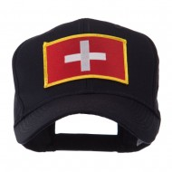 Europe Flag Embroidered Patch Cap - Switzerland