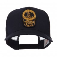 USA Eastern State Police Embroidered Patch Cap - VA State