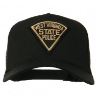 USA Eastern State Police Embroidered Patch Cap - WV State