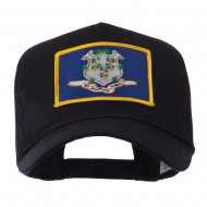 USA Eastern State Embroidered Patch Cap - Connecticut