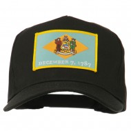 USA Eastern State Embroidered Patch Cap - Delaware